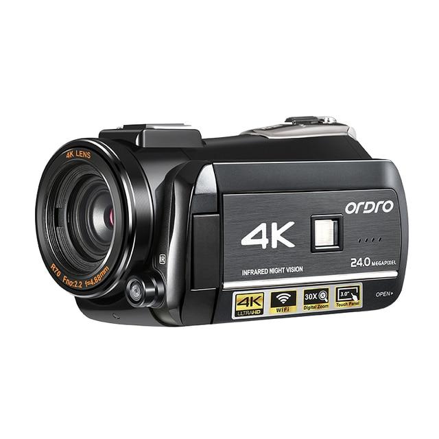 3.1inch Screen Digital Camera Professional Night-vision Recording Used As PC Cam Camcorder Ultra HD 4K Video Camera Anti-shake 4