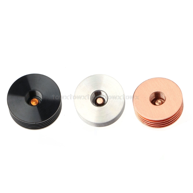1PC Electronic Cigarettes Vape 510 Thread Heat Dissipation Heat Sink Adapter For RDA RTA Atomizers S11 19 Dropship