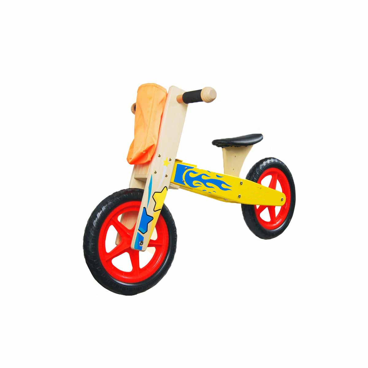 12 Inch Wooden Balance Bike Toddler No Pedals For 1 – 5 Year Old 3