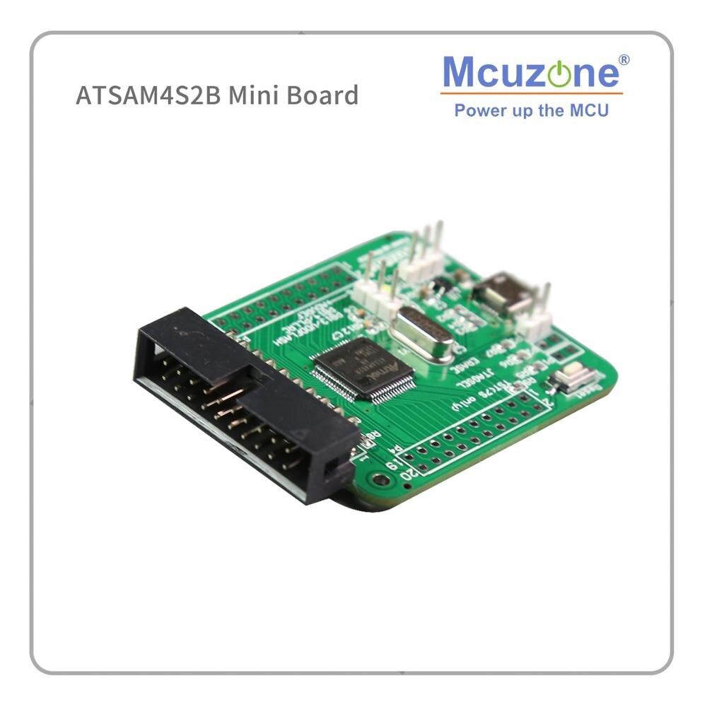 ATSAM4S ATSAM4S2B Mini Board 120MHz CM4 QFP64 Compatible With AT91SAM7 SATSAM4S64 USB UART HSMCI  4S