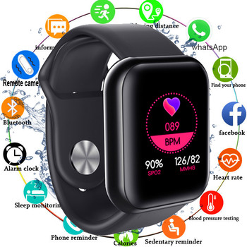 $2 off coupon for Smart Watch Blood Pressure Monitor Heart Rate Oxygen Tracker Multi-sport Modes 1.3'' Screen Square Watch