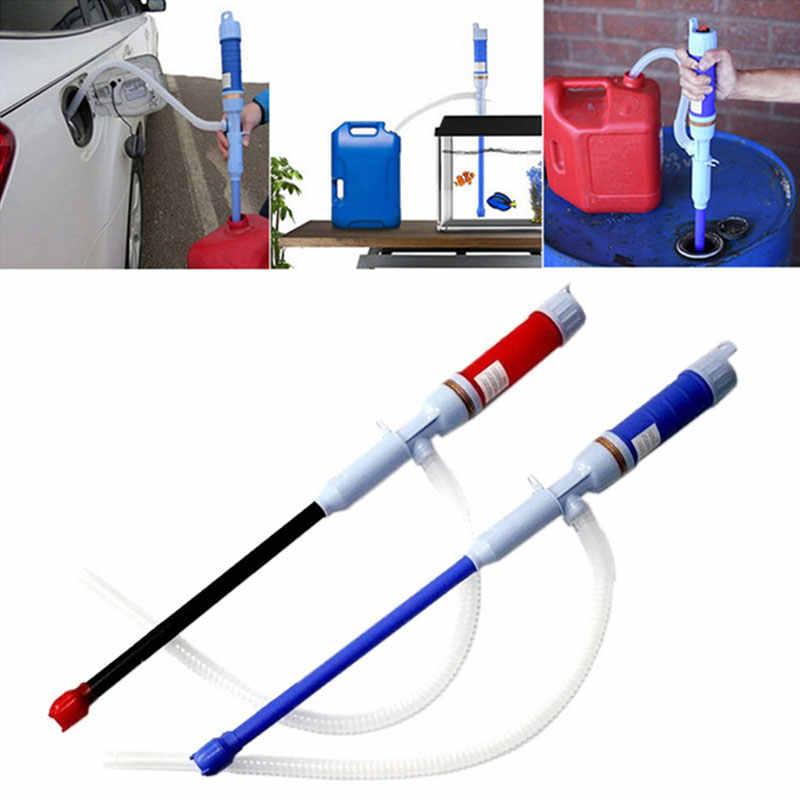 Электрический автоматический топливный насос для жидкой воды, сифон, насос с питанием от батареи для газовой воды, ванной, пруда, ручной насос