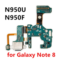 100% Original for Samsung Galaxy Note 8 USB Dock Connector Charging Port N950U N950F Charge Flex Cable Parts Mobile Phone Flex Cables     -