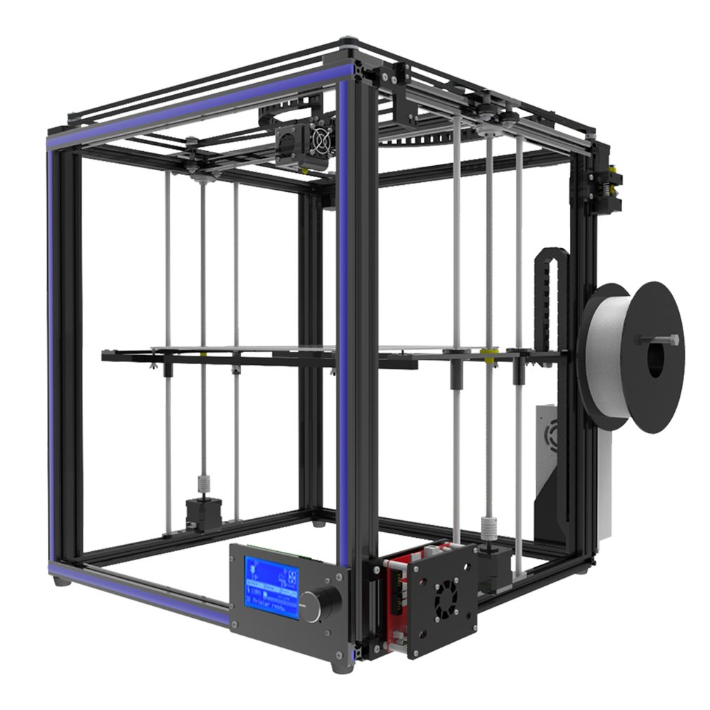 3D Printer Precision Tronxy X5S Aluminium Structure 3D Printer PLarge Printing Area 330*330*400mm Max US Plug|3D Printers| |  - title=