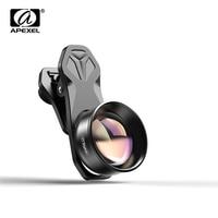 Apexel hd 광학 전화 모바일 렌즈 2x 망원경 초상화 렌즈 cpl 스타 필터 lente xiaomi redmi 화웨이 mostsmartphones