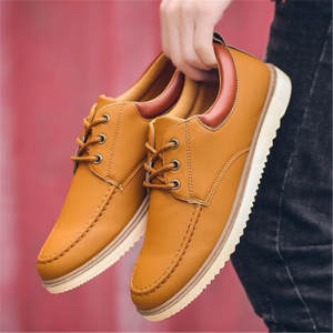 Shoes Men Sneaker Oxfords Lace-Up Fashion-Design Causal Men's New 39-44 Flats