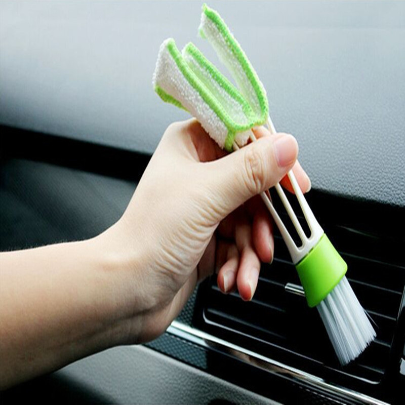 Hot Cars Auto Air Conditioning Outlet Cleaning Brush Dust Cleaning For MG 3 6 ZS 2017 ZR Saab 9-2X 9-3 E 9-5 9-7X Accessories