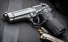 Pietro Beretta-pistola de aire de Metal, etiqueta militar de estaño, pistolas hechas en Italia, letrero de estaño, póster, placa decoración chapa