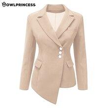 madam clothing OWLPRINCESS Plus Size Business Blazer Black Blazer