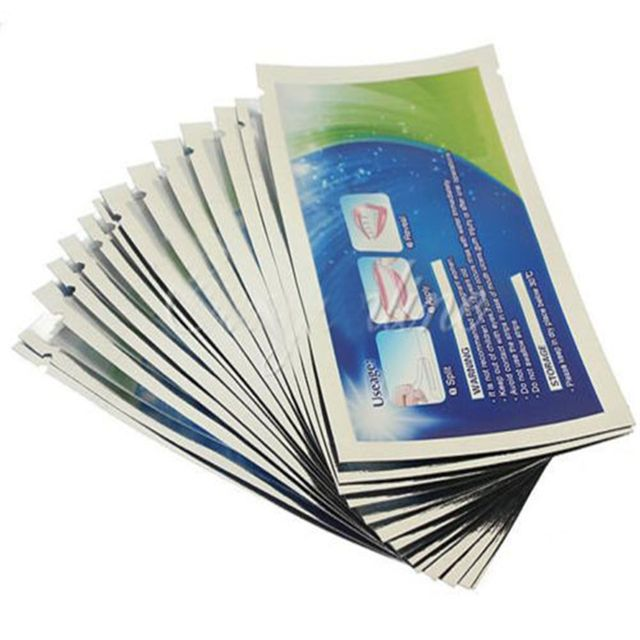 28 Strips/14 Pairs Teeth Whitening Strips Professional Oral Tooth Strip Dental Care Whitener Tooth Bleaching Beauty Tool