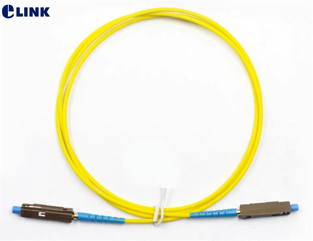 FiberTool Simplex SM SC to ST Patch Cable Fiber Optic Jumper 3 Meter