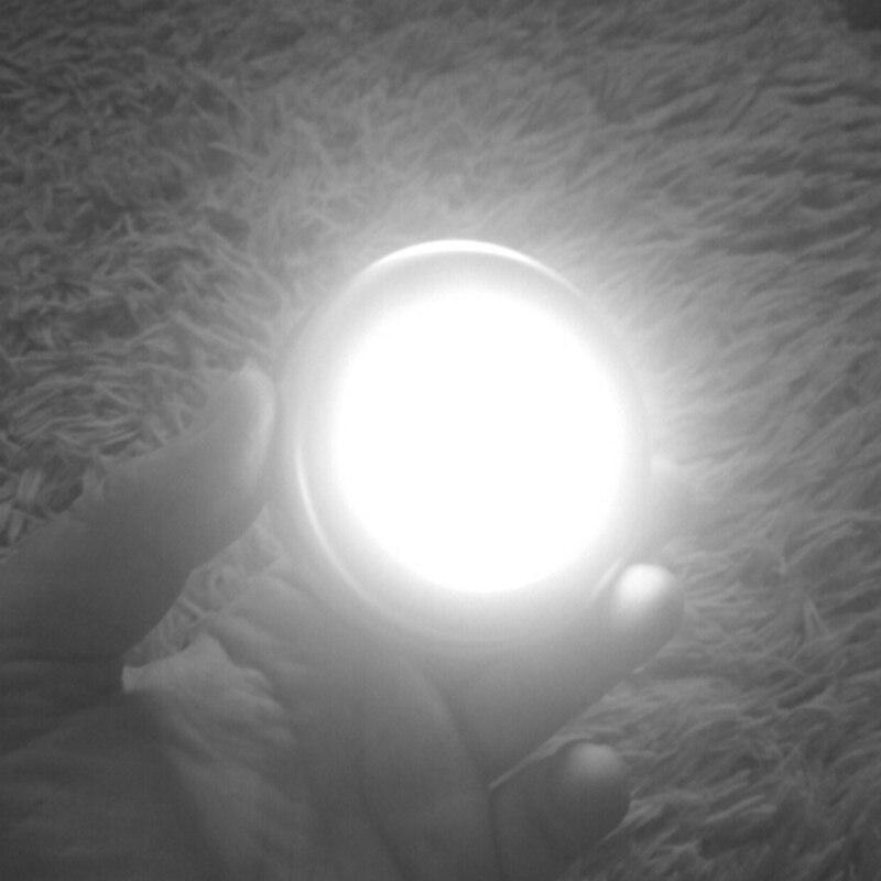 6LED Night Light PIR Infrared Motion Sensor Night Lamp For Children Magnetic Infrared Wall Lamp Cabinet Stairs LED Sensor Light