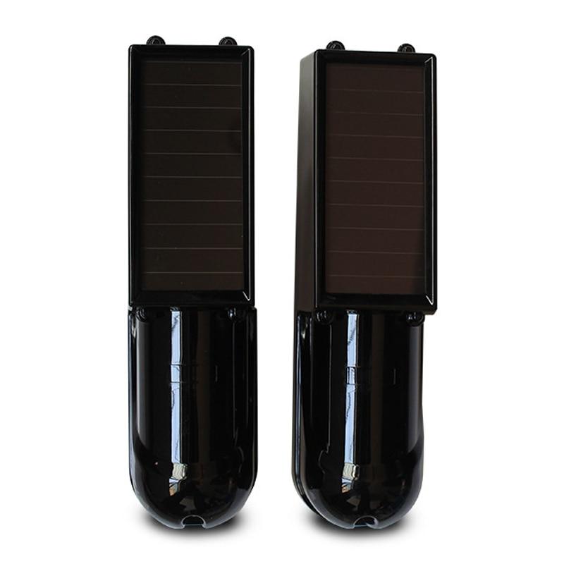 100 Meter Wireless 433 Solar Power Panel Passive Infrared Beam Detector Smart Home Security Alarm Host Driveway Window Sensor