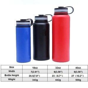 Image 5 - Hydro boccetta 18oz/32oz/40 once Bicchiere Boccetta Boccetta di Vuoto Isolato Boccetta In Acciaio Inox Bottiglia di Acqua di Larghezza bocca Allaperto Bottiglia di Sport