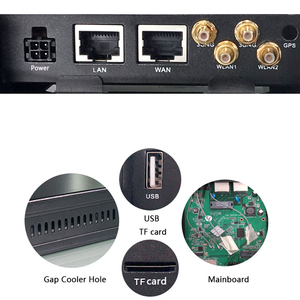 Image 5 - 자동차 버스 3G 4G 모뎀 openWRT Vehicel 라우터 무선 장거리 SIM 카드 슬롯 라우터 Wi Fi 300Mbps 5dBi 외부 안테나