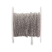 10 м/рулон металлическая цепь из нержавеющей стали ширина 18