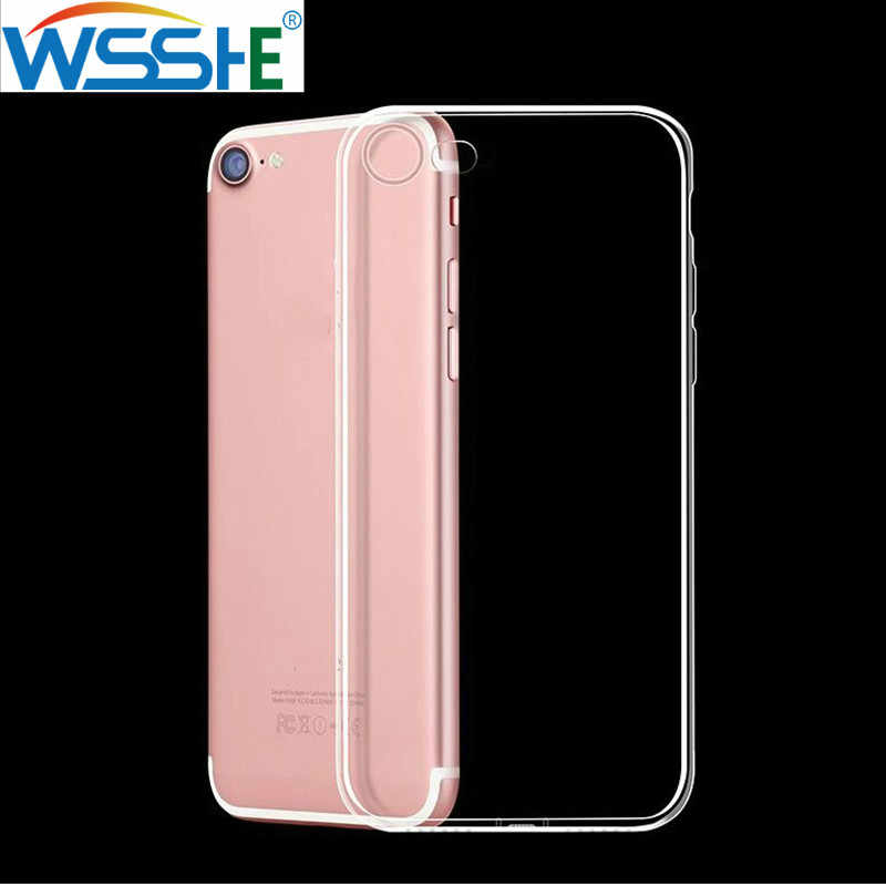 Clear Silicon Soft TPU Case For 7 7Plus 8 8Plus X XS MAX XR Transparent Phone Case For iPhone 11 Pro Max 5 5s SE 6 6s Plus case