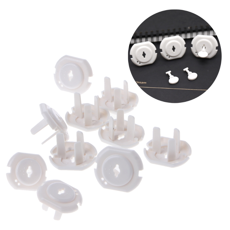 10pcs Australia/Germany Power Socket Outlet Plug Protective Cover Baby Safety Protector