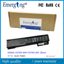 14.4V 75WH Original New Laptop Battery AR08 For HP ZBook 17