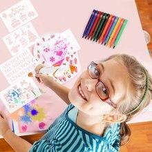 Креативный Электрический распылитель художественная ручка Аэрограф Маркер Набор акварельных красок ручка волшебная ручка Цветные Маркеры детские игрушки подарок