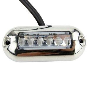 Image 3 - 12 12vマリンオーバルled水中ライトブルーアクセントライト表面実装6 led IP68