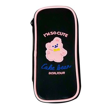 Portable PUPencil Pen Case Cosmetic Makeup Coin Pouch Zipper Bag Purse Fashion novelty girl 2015 brand new fashion cartoon cute cat face zipper case coin case purse wallet makeup buggy bag pouch