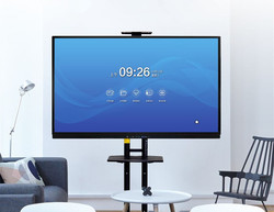 75 86 100 inch TV functie Educatief vergadering onderwijs boord Multi TouchScreen Display Interactieve whiteboard met pc gebouwd in
