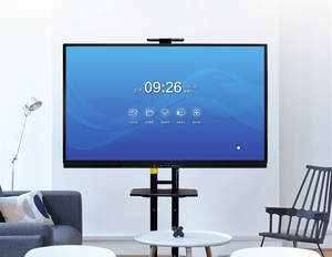 Teaching-Board Interactive-Whiteboard with Display Pc Built-In 75-86-Multi-Touchscreen