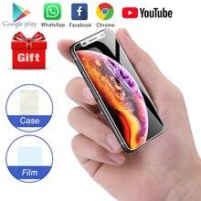 جيب الهاتف الذكي Melrose 2019 3.4 بوصة شاشة صغيرة رباعية النواة أندرويد 8.1 بصمة طالب صغير الهاتف المحمول اللعب مخزن