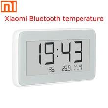 Xiaomi Mijia BT4.0 bezprzewodowy inteligentny elektryczny zegar cyfrowy wewnętrzny i zewnętrzny higrometr termometr LCD pomiar temperatury