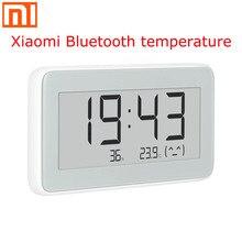 Беспроводные умные электронные часы Xiaomi Mijia BT4.0, комнатные и уличные гигрометр термометр ЖК дисплей для измерения температуры