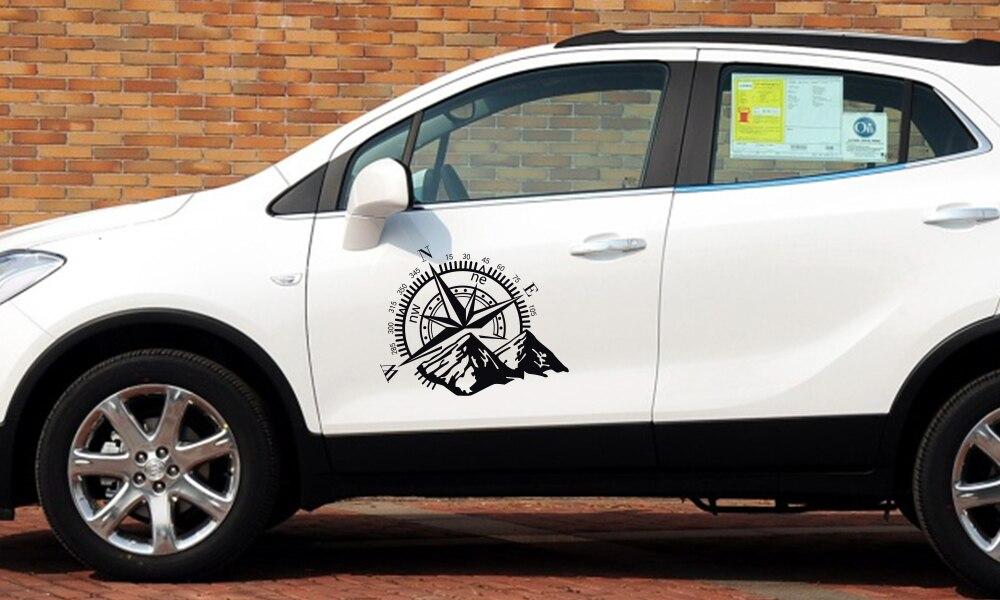 Боковые наклейки для автомобильной двери, виниловая пленка, авто украшение, наклейка для водонепроницаемого внедорожника, Ford Chevy, Стайлинг, автомобильные тюнинговые аксессуары