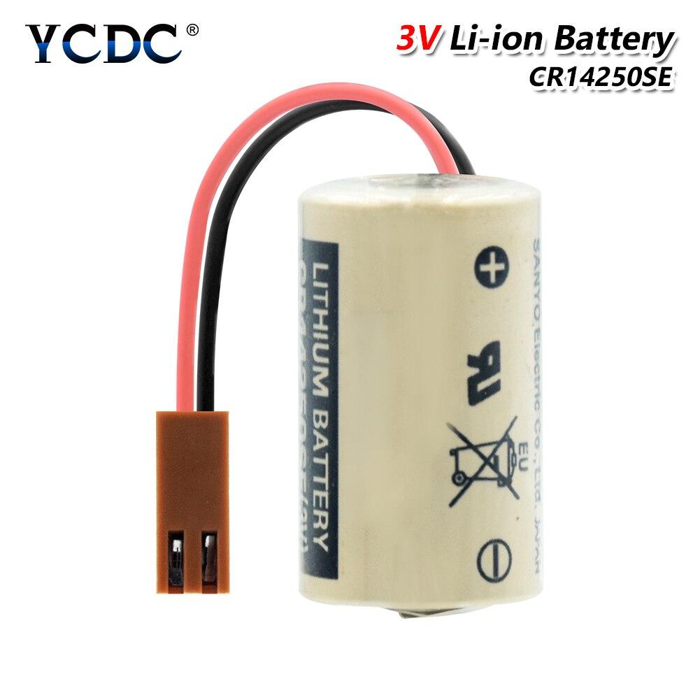 YCDC CR14250SE CR14250 батарея 3V 1000mAh PLC Промышленный контроль литий-ионные резервные батареи 1/2AA