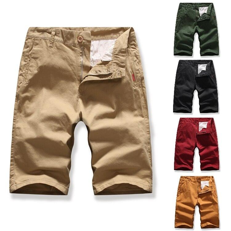 Men's Overalls Men's Tooling Fifth Pants Men's Multicolor Solid Color Tooling Shorts Fifth Pants
