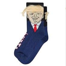 1 Pair Personality Socks Unisex Funny Print Adult Casual Crew Socks