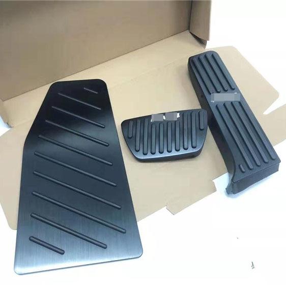 Für Toyota RAV4 RAV-4 2019 2020 Aluminium Auto Gaspedal Bremspedal 3 stücke Fußstütze Pedal Platte Abdeckung