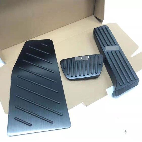 Para Toyota RAV4 RAV-4 2019 2020 aluminio coche acelerador Pedal de freno 3 uds reposapiés cubierta de la placa del Pedal