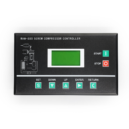 Air Compressor Parts MAM 880 PLC Controller Panel with Wiring Diagram 100  400A 18.5 132KW 25HP 180HP|Pump Replacement Parts| - AliExpressAliExpress
