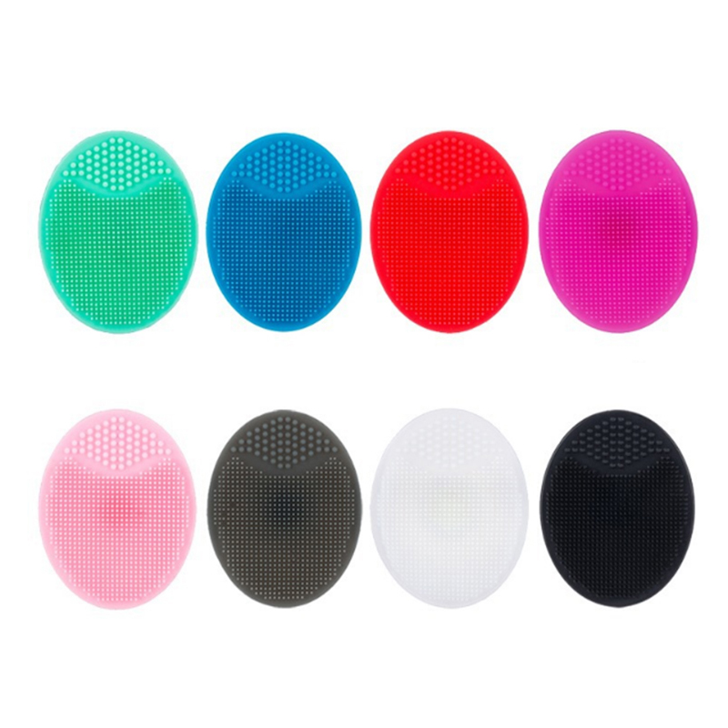 Suction Cup Silicone Cleaning Pad Wash Face Facial Exfoliating Brush Skin Scrub Deep Cleanser Facial Care Tools TSLM1