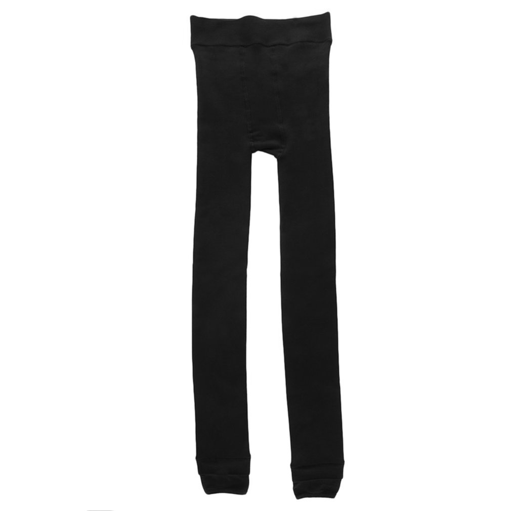 NEW Women Warm Thick Fleece Fur Lined Thermal Leggings Solid Stretch Winter Pants Feel Free And Move At Ease But Warmer