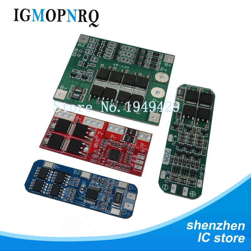 <font><b>3S</b></font> 10A 20A 25A 30A Li-ion Lithium Battery 18650 Charger PCB BMS Protection <font><b>Board</b></font> For Drill Motor Lipo Cell Module image