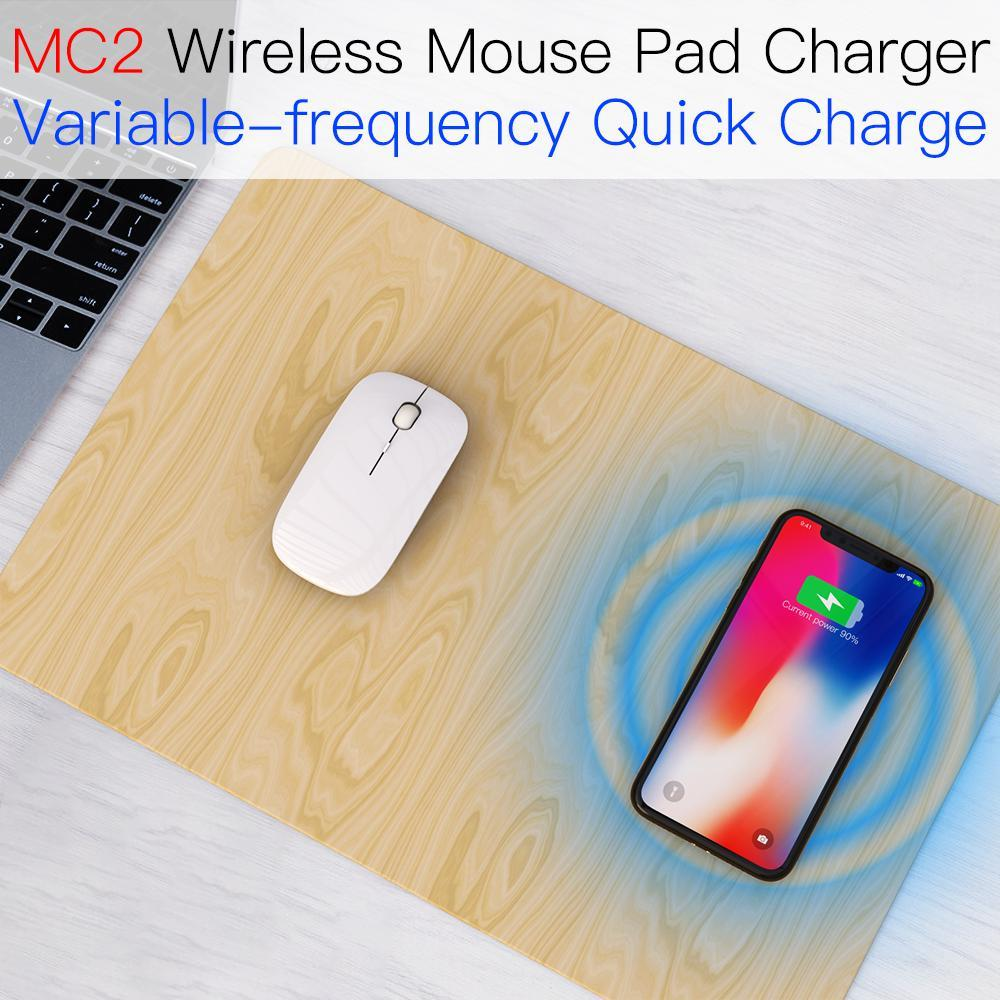 JAKCOM MC2 Wireless Mouse Pad Charger Best gift with smart gadget fashion mouse keyboard wrist rest pad 4 plus find x image