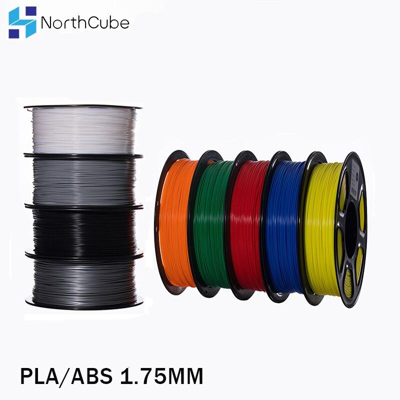 Pla/abs/petg/tpu filamento 1.75mm 1 kg/0.8 343 m/10m 2.2 libras abs fibra de carbono 3d material plástico para impressora 3d e caneta 3d