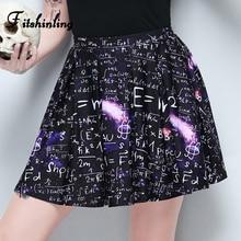 Fitshinling Harajuku Autumn High Waist Skirt Sheer Mesh T Shirt Sets Black Gothic Slim Goth Dark Skirts Womens Print Sexy Faldas