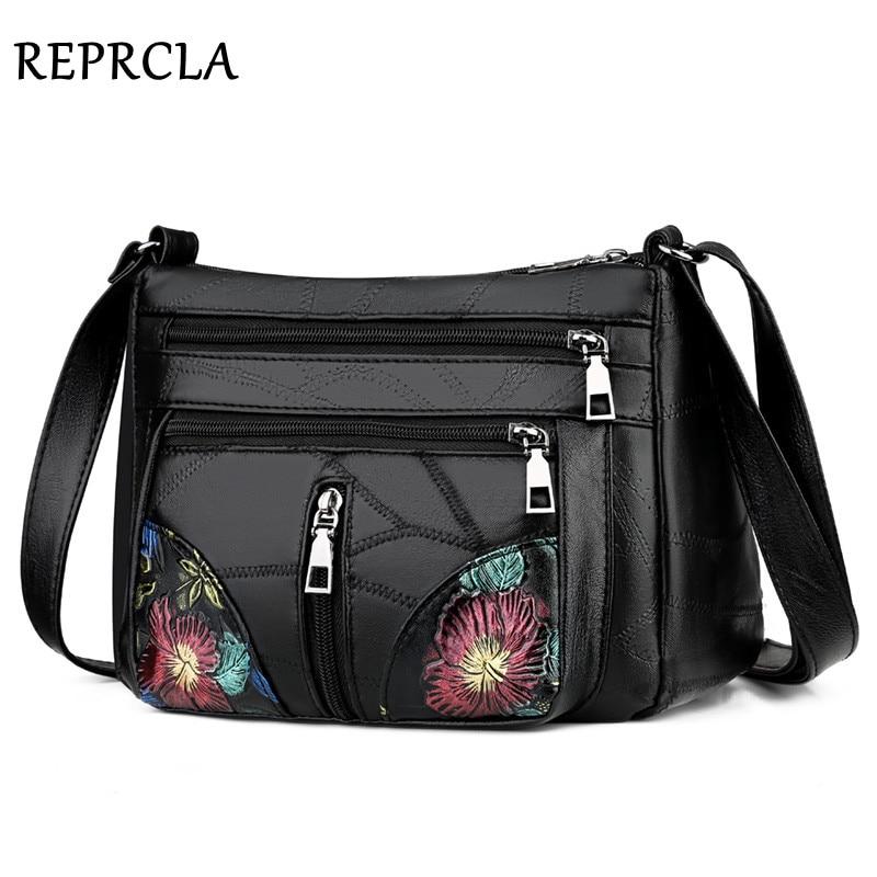 Fashion Patchwork Leather Women Shoulder Bags Designer Lady Handbag Female Crossbody Messenger Bags Bolsa