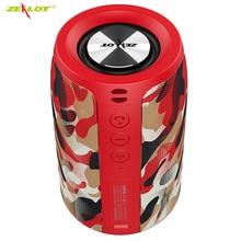 ZEALOT S32 Wireless Bluetooth Speaker Mini Portable HIFI Subwoofer Speaker with fm radio Column Support TF card,USB Pen Drive цена 2017