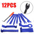 12 pièces outil de retrait de garniture Kits de retrait de voiture garniture ensemble de cale