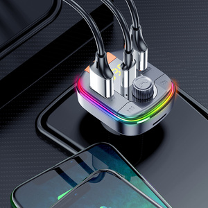Image 3 - BC70 USB מטען לרכב Bluetooth 5.0 FM משדר רדיו מתאם תצוגה כפולה אלחוטי דיבורית שיחת MP3 מוסיקה נגן