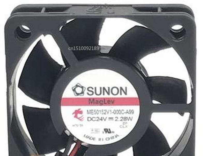 For Original ME50152V1-000C-A99 5cm 5015 50mm Fan DC 24V 2.28W High-end Inverter Cooling Fan Free Shipping