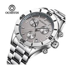 OCHSTIN 30m Waterproof Top Brand Sports Men's Stainless Steel  Quartz Watch mens watches top brand luxury watch for men цена 2017
